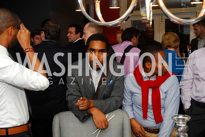 Kendrick Jackson,October 23,2012.Michael Andrews Bespoke Opening,Kyle Samperton