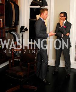 Alex Yampolskiy,Dana Matassa,October 23,2012.Michael Andrews Bespoke Opening,Kyle Samperton