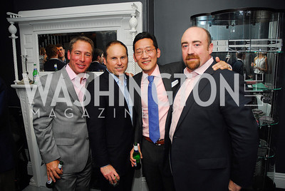 Chris Ginder,Larry Bradley,Timothy You,Bill Morrow,October 23,2012.Michael Andrews Bespoke Opening,Kyle Samperton