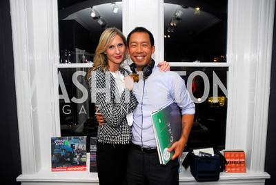 Ashley Chandler,Benjamin Chang,October 23,2012.Michael Andrews Bespoke Opening,Kyle Samperton
