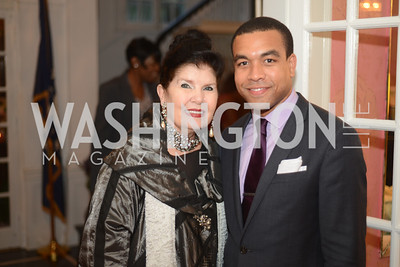 Judith Terra, Marquis Perkins, National Assembly of State Arts Agencies Dinner hosted at the home of the Chair of the DC Commission on the Arts and Humanities.