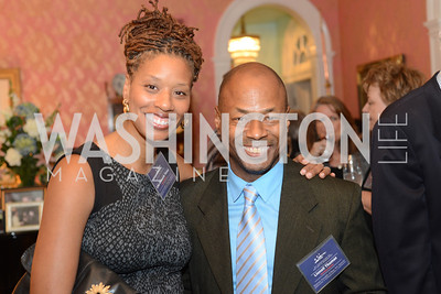 Lisa Richards Toney, Lionell Thomas,  National Assembly of State Arts Agencies Dinner hosted at the home of the Chair of the DC Commission on the Arts and Humanities.