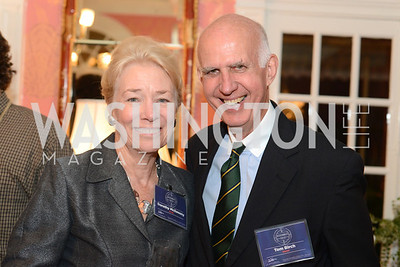 Dorothy McSweeny, Tom Birch, National Assembly of State Arts Agencies Dinner hosted at the home of the Chair of the DC Commission on the Arts and Humanities.