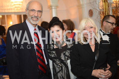 Jonathan Katz, Judith Terra, Terri Moreland, National Assembly of State Arts Agencies Dinner hosted at the home of the Chair of the DC Commission on the Arts and Humanities.
