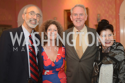 Jonathan Katz, ___ Tommy Wells, Judith Terra,  National Assembly of State Arts Agencies Dinner hosted at the home of the Chair of the DC Commission on the Arts and Humanities.
