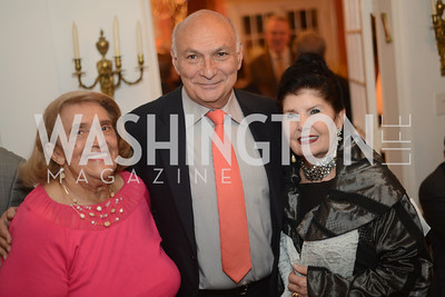 R-L Judith Terra, Michael Kahn, National Assembly of State Arts Agencies Dinner hosted at the home of the Chair of the DC Commission on the Arts and Humanities.