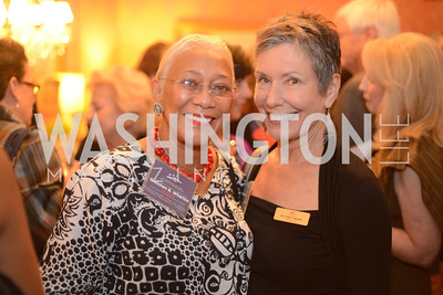 Gretchen Wharton, Susan Clampitt,  National Assembly of State Arts Agencies Dinner hosted at the home of the Chair of the DC Commission on the Arts and Humanities.