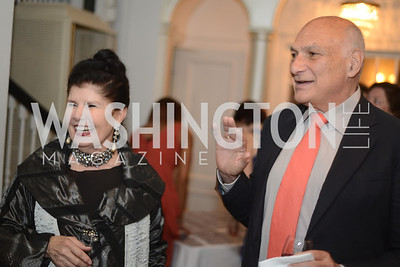 Judith Terra, Michael Kahn,  National Assembly of State Arts Agencies Dinner hosted at the home of the Chair of the DC Commission on the Arts and Humanities.