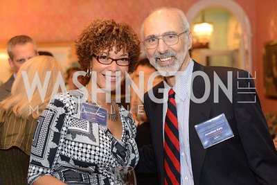 Traci Slater-Rigaud, Jonathan Katz,  National Assembly of State Arts Agencies Dinner hosted at the home of the Chair of the DC Commission on the Arts and Humanities.