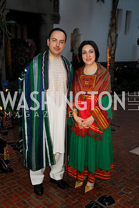 Ambassador Eklil Hakimi,Sultana Hakimi,March 17,2012,Nowruz 2012,Kyle Samperton