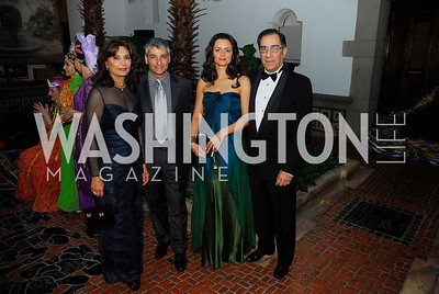 Sheila Saleh,Ali Safayan,Elka Amorim,Peter Saleh,March 17,2012,Nowruz 2012,Kyle Samperton