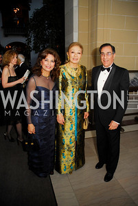 Sheila Saleh,Farah Pahlavi,Peter Saleh,March 17,2012,Nowruz 2012,Kyle Samperton