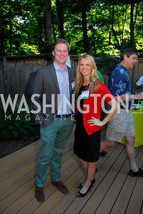 John Cuyler,Meghan Nolan,June 26,2012,NVTC Hot Ticket Awards Poolside Party,Kyle Samperton