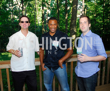 Brian Wiley,Wil Buayne,Steve Dalgetty,June 26,2012,NVTC Hot Ticket Awards Poolside Party,Kyle Samperton