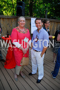 Lise Murphy,Whit Stewart,June 26,2012,NVTC Hot Ticket Awards Poolside Party,Kyle Samperton