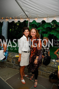 Hilary Frodwich, Sheryl Schwartz,June 26,2012,NVTC Hot Ticket Awards Poolside Party,Kyle Samperton