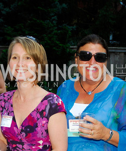 Cheryl Dickison,Michele Perry,June 26,2012,NVTC Hot Ticket Awards Poolside Party,Kyle Samperton