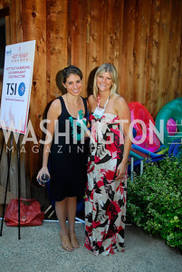 Danielle Frank,Jessica Lindberg,June 26,2012,NVTC Hot Ticket Awards Poolside Party,Kyle Samperton