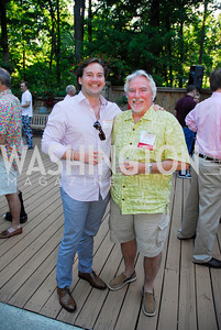Gabe Oser,Jim LeBlanc,June 26,2012,NVTC Hot Ticket Awards Poolside Party,Kyle Samperton