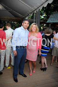 Usman Shakin,Katherine Ferguson,,June 26,2012,NVTC Hot Ticket Awards Poolside Party,Kyle Samperton