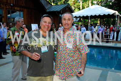 Chris Marentis,Frank Blackstone,June 26,2012,NVTC Hot Ticket Awards Poolside Party,Kyle Samperton