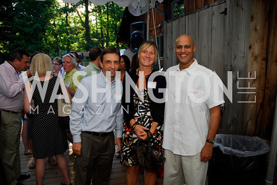 Chris Ryan,Kristen Cheman,Manik Rath,June 26,2012,NVTC Hot Ticket Awards Poolside Party,Kyle Samperton