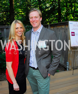Meghan Nolan,John Cuyler,June 26,2012,NVTC Hot Ticket Awards Poolside Party,Kyle Samperton