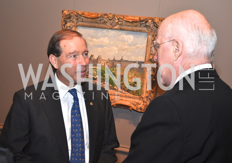 Senators Tom Udall and Patrick Leahy National Gallery of Art, January 25, 2012 19th Century French Art