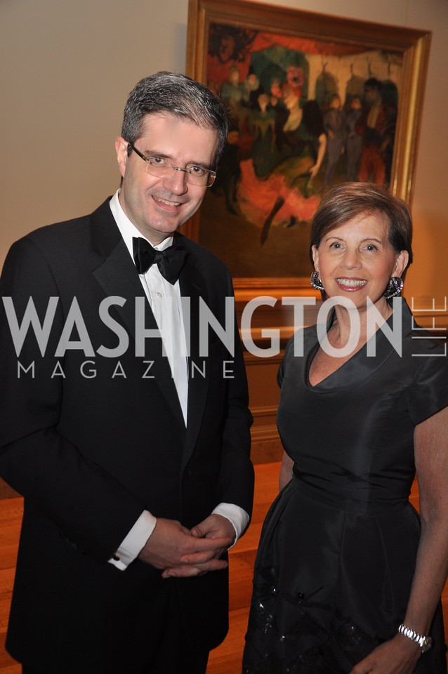 Francois Delattre, Ambassador of France to US, Adrienne Arsht National Gallery of Art, January 25, 2012 19th Century French Art