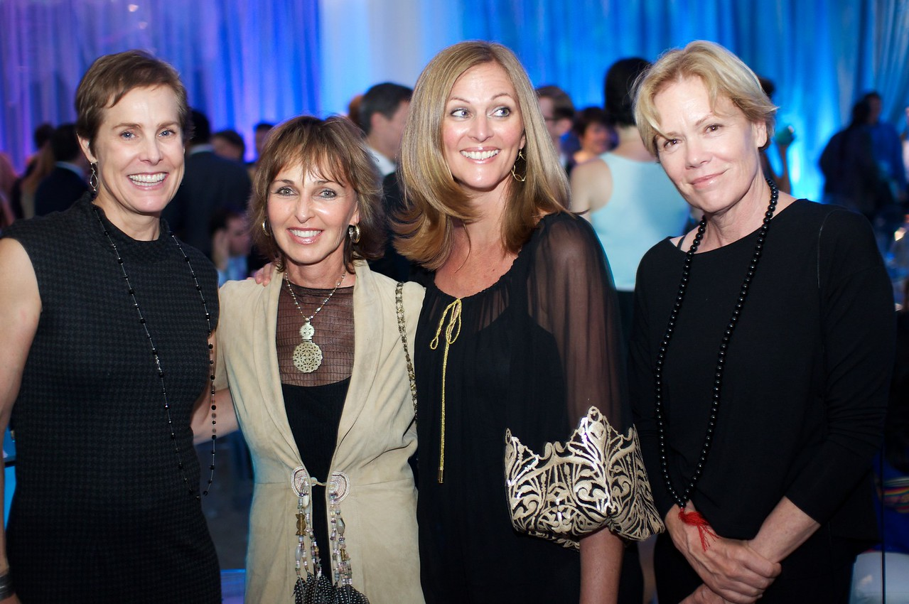Nancy Heritage, Susan Kelly, Beverly Doubent, Lisa Truitt, National Geographic Society, Evening of Exploration. Thursday June 14, 2012. Presented by Rolex, Photo by Ben Droz.