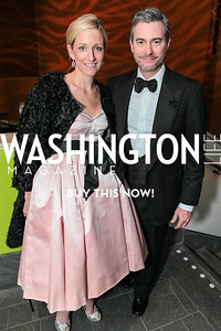 Alexa Wesner, Blaine Wesner. National Medal of Arts and Humanities Dinner. National Museum of the American Indian. February 12, 2012. Photo by Alfredo Flores