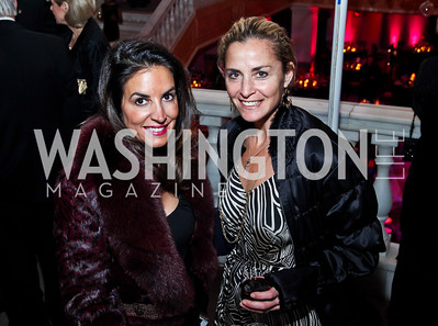 Paige McKenzie, Ami Aronson. Photo by Tony Powell. NMWA Fall Benefit. November 4, 2012