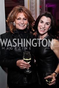 Sandy Hoffman, Tracy Bernstein. Photo by Tony Powell. NMWA Fall Benefit. November 4, 2012