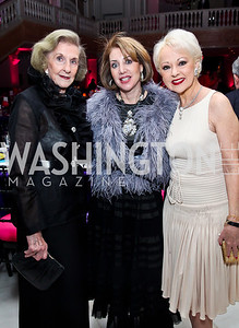 Wilhelmina Holladay, Nancy Duber, Carol Lascaris. Photo by Tony Powell. NMWA Fall Benefit. November 4, 2012