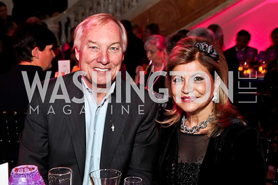 Peter Franchot, Annie Totah. Photo by Tony Powell. NMWA Fall Benefit. November 4, 2012