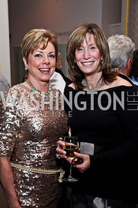 Dianne Bruce, Deborah Epstein. Photo by Tony Powell. NMWA Fall Benefit. November 4, 2012