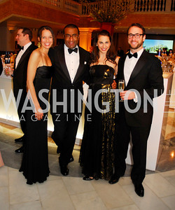 Nicole Mlade,Eric Motley,Anoush Gavoor,Aram Gavoor,February 3,2012, National Museum Of Women in the Arts 25th Anniversary,Kyle Samperton
