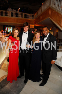 Maria Marcheski,Andree Cardam,Stephanie Cate,,Eric Motley,February 3,2012, National Museum Of Women in the Arts 25th Anniversary,Kyle Samperton