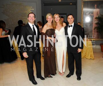 Alex Lofte,Kathy Lofte,Dee Dee Lofte,Chris Lofte,February 3,2012, National Museum Of Women in the Arts 25th Anniversary,Kyle Samperton
