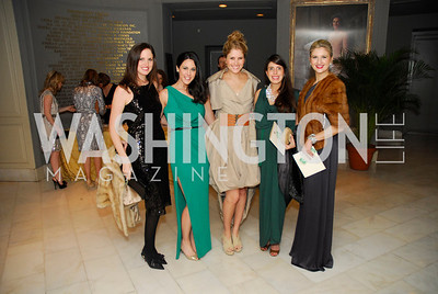 Stephanie Ahr,Candace Ourisman,Ashley Taylor,Sandy Meissmar,Marybeth Coleman,February 3,2012, National Museum Of Women in the Arts 25th Anniversary,Kyle Samperton