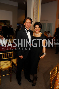 Said Jawad,Shamin Jawad,February 3,2012, National Museum Of Women in the Arts 25th Anniversary,Kyle Samperton