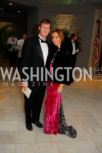 Bill O'Leary,Pilar O'Leary,February 3,2012, National Museum Of Women in the Arts 25th Anniversary,Kyle Samperton