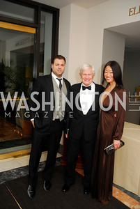 Jason Kampf,Fred Malek,Pamela Sorensen,February 3,2012, National Museum Of Women in the Arts 25th Anniversary,Kyle Samperton