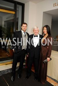 Jason Kampf,Fred Malek,Pamela Sorensen,February 3,2012, National Museum Of Women in the Arts 25th Anniversary,Kyle Samperton