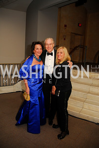 Grace Bender,George Vradenburg.Tricia Vradenburg,February 3,2012, National Museum Of Women in the Arts 25th Anniversary,Kyle Samperton