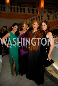 Candace Ourisman,Coventry Burke Berg,Marybeth Coleman,Stephanie Ahr,February 3,2012, National Museum Of Women in the Arts 25th Anniversary,Kyle Samperton