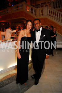 Nicole Mlade,Eric Motley,February 3,2012, National Museom Of Women in the Arts 25th Anniversary,Kyle Samperton