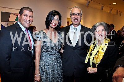 Dale Mott, Moshira Soliman and Les Deak, Betty Sams. Photo by Tony Powell. Surviving Grace. Phillips Collection. October 10, 2012