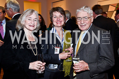 Irene Wurtzel, Dorothy Kosinski, Alan Wurtzel. Photo by Tony Powell. Surviving Grace. Phillips Collection. October 10, 2012
