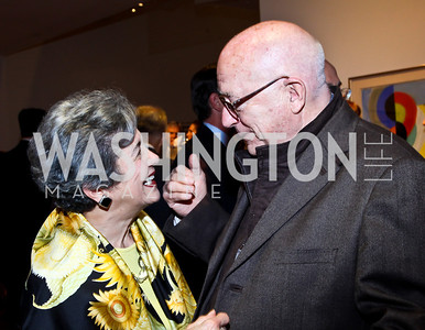 Betty Sams, Joe Duffey. Photo by Tony Powell. Surviving Grace. Phillips Collection. October 10, 2012